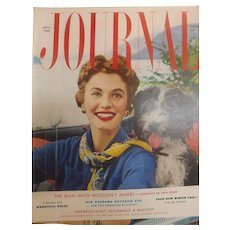 Ladies Home Journal Magazine - October  1953 USA