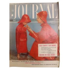Ladies Home Journal Magazine - April 1954 USA