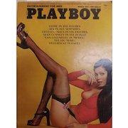 PLAYBOY Magzine With Vargas Print- March 1974