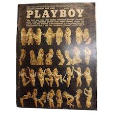 PLAYBOY USA Magzine With Vargas Print- March 1973