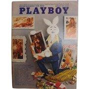 PLAYBOY USA Magzine With Vargas Print -  January 1973