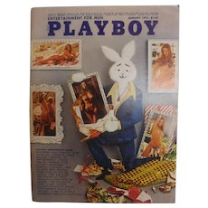 PLAYBOY USA Magzine With Vargas Print -  January 1973