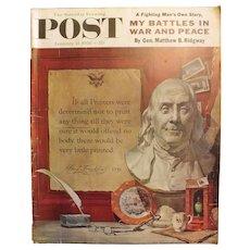 Saturday Evening Post Magazine - January 21 1956