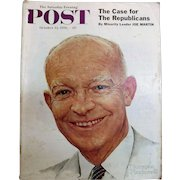 Saturday Evening Post Magazine  October 13  1956 - Norman Rockwell Cover
