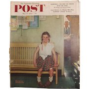 Saturday Evening Post Magazine - May 23 1953  - Norman Rockwell Cover