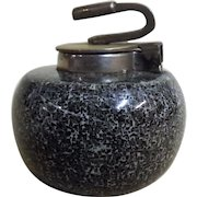 Miniature Curling Stone Ink Well - Early 1900's