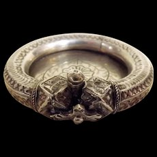 Egyptian Ankle Braclet  - .800 Silver - 19th Century