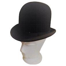 English Bowler Hat by H.C. Corne -Evelina Road London