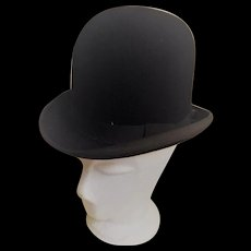 English Bowler Hat by H.C. Corne -Evelina Road London
