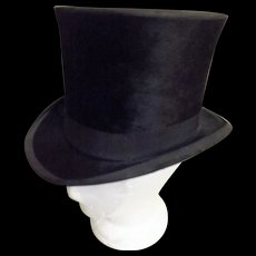 Victorian Top Hat by Thos. Townsend & Co London