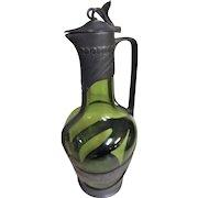 Jugendstil German Wine Jug -Circa 1890-1910