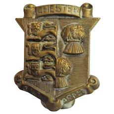 Old English Souvenir Door Knocker for CHESTER England