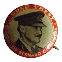 General Sir Bernard Freyberg Tin Badge