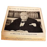 The Life of Winston Churchill - 8mm Film
