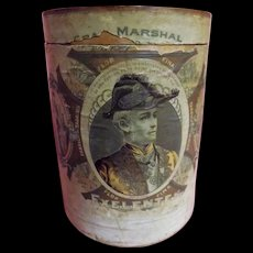 Gran Marshall Exelentes Cigar Drum - Cuba Circa 1900