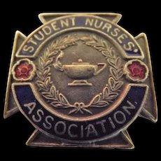 British Student Nurses Association Badge