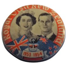 Royal Visit New Zealand 1953-1954 Queen Elizabeth & Prince Philip