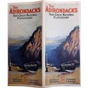 The Adirondacks - 'Our Great Natural Playground' Tourist Brochure Circa 1920