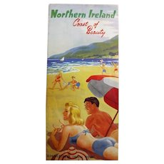 Northern Ireland Tourism Brochure Circa 1951