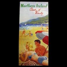 Northern Ireland Tourism Brochure Circa 1951
