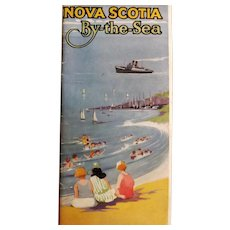 Nova Scotia By The Sea Tourist Brochure -  Circa 1924