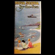 Nova Scotia By The Sea Tourist Brochure -  Circa 1924