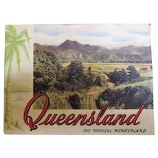 """Queensland The Tropical Wonderland"" Tourist Brochure Circa 1930"