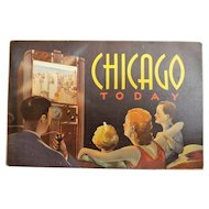 Chicago Today......Tourist Brochure Circa 1940