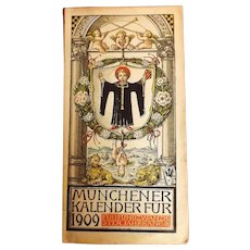 Munchener Kalender Fur 1909