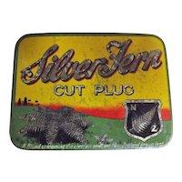 Silver Fern Tobacco Tin By Dominion Tobacco New Zealand