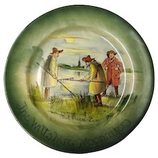 "Royal Doulton ""The Wiltshire Moonrakers"" Rack Plate"
