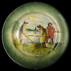 """Royal Doulton """"The Wiltshire Moonrakers"""" Rack Plate"""