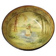 "Royal Doulton ""Bluebell Gatherers"" Series Fruit Bowl"