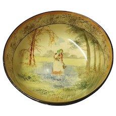 "Royal Doulton ""Bluebell Gatherers"" Series Fruit Bowl"