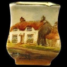 Royal Doulton Miniature Series Vase - Countryside Series 1912-1942