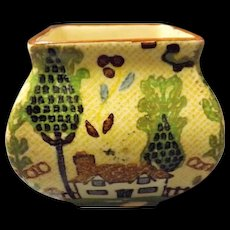 Royal Doulton Miniature Series Vase  -  English Countryside 1924-1936
