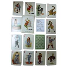 PETER PAN Set of Playing Cards Circa 1910