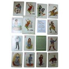 PETER PAN Set of Playing Cards Circa 1910
