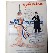 Front Page of Le Sourire Magazine 26 March 1931