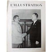 Stalin Meets Von Ribbentrop at The Kremlin August 1939
