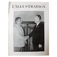Stalin Meets Von Ribbentrop at The Kremlin August 1939