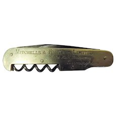 Mitchell & Butlers Ltd Cape Hill Brewery- Waiters Wine Knife