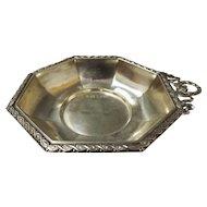 Stunning Edwardian Sterling Silver Bon Bon Dish - 1909