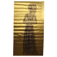 Brass Rubbing From Great St. Marys Church - Sawbridgeworth - Hertfordshire -  England