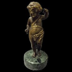 Bronze Cherub - France Late 19th Century