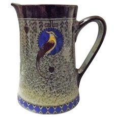 Royal Doulton Titanian Bird of Paradise Jug
