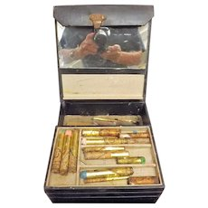 Theatrical Artiste's Make -Up Case Circa 1950
