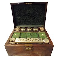 Edwardian Ladies Vanity Travel Case Circa 1900 -1910