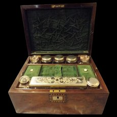 Edwardian Ladies Vanity Travel Case Circa 1900 -1910