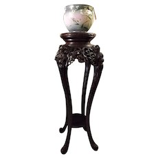 A Large Elegant Chinese Antique  Rosewood  Stand - Circa late 19th Century